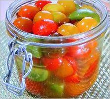 スイーツ酢トマト
