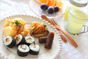果実酢で作る酢飯