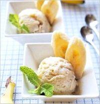 バナナ酢 アイス