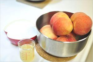 桃酢の作り方