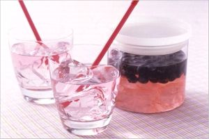 ブルーベリー黒酢の作り方