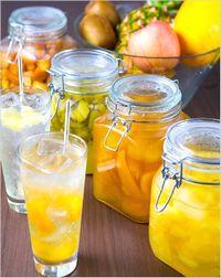 フルーツ酢 料理