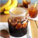 バナナ酢の作り方や効果・効能について