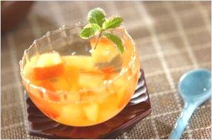 リンゴ酢のゼリー