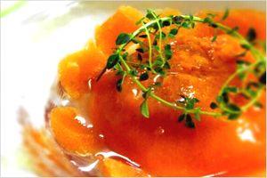 柿酢コンポート