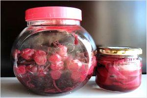 梅酢漬け 保存